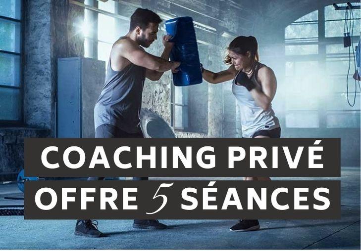 Coaching privé 5 séances