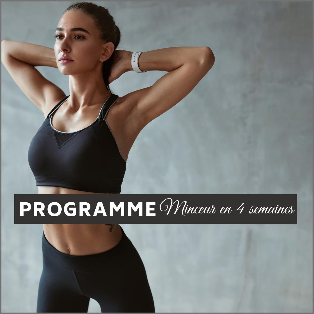 Programme sportif minceur 4 semaine en salle
